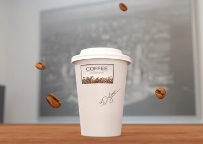 3D coffee mug