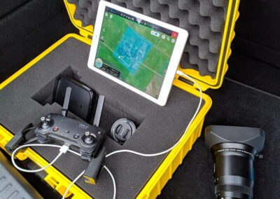 3D drone scanning